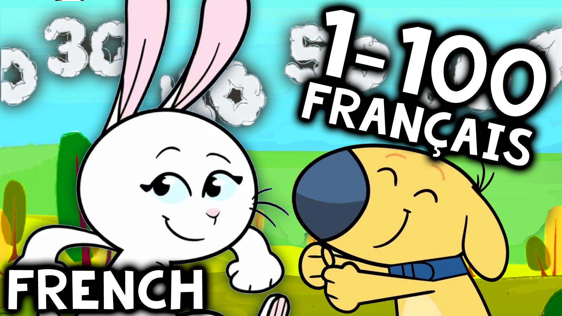 French Numbers 1-100 Song