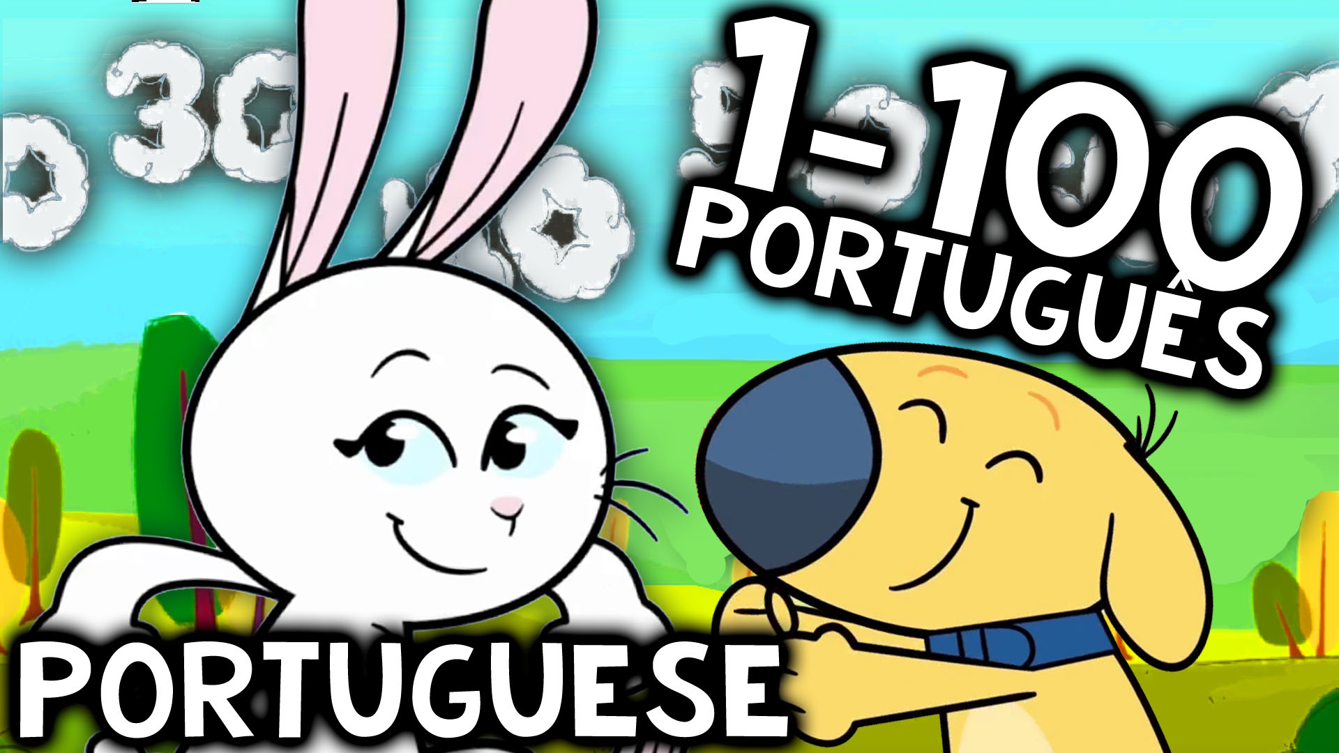 Portuguese Numbers 1-100 Song