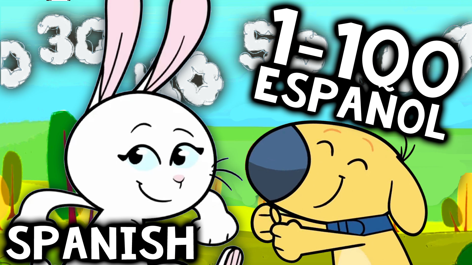 Counting to 100 in Spanish Song