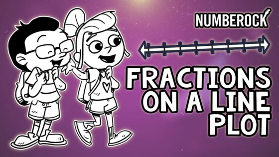 Line Plots with Fractions Song | Video Comes with Worksheets, Lyrics Sheets, and Other Activities