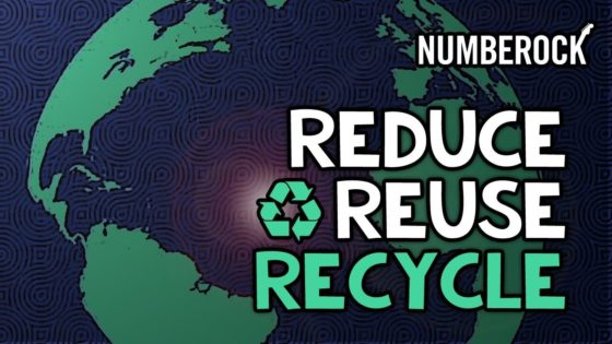 Reduce Reuse Recycle Song with Coloring Pages, Worksheets, a nice Poster, and Other Activities