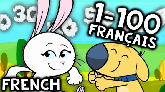 Counting to 100 in French