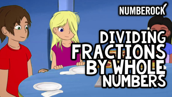 Dividing Fractions by Whole Numbers Song | Video by Numberock with Worksheets, Anchor Chart, and Activities