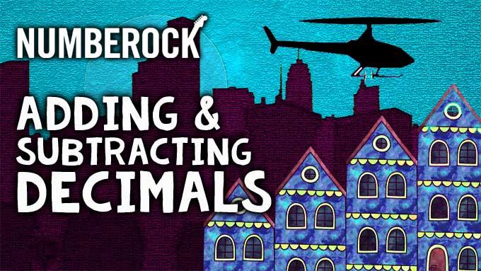 Adding & Subtracting Decimals Song | NUMBEROCK