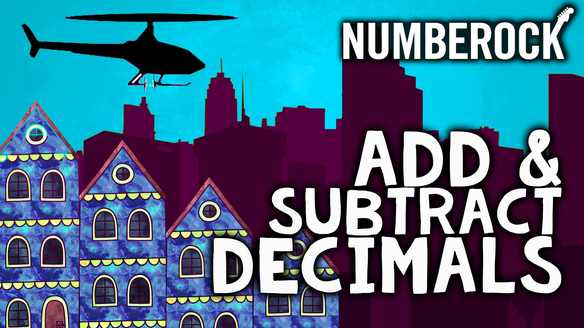 adding decimals and subtracting decimals math song by numerbock