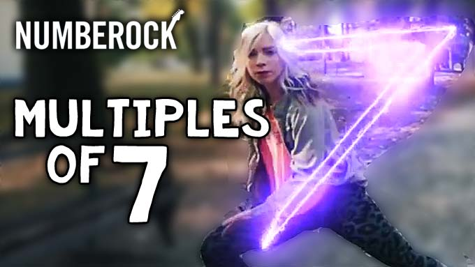 Multiples of 7 Song | Multiplication Dance Video by NUMBEROCK