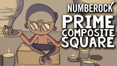 Prime Composite and Square Numbers Song by Numberock with Lesson Plan and Worksheets
