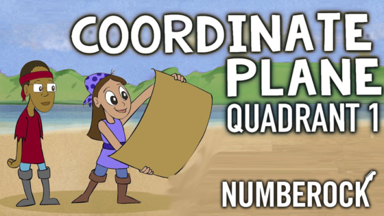 Coordinate Plane 1st Quadrant Song | Video with Lesson Plan, Worksheets, and Anchor Chart