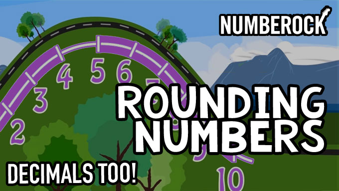 Rounding Decimals & Whole Numbers Song by NUMBEROCK