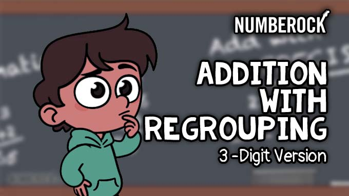 Addition with Regrouping Song - Numberock Video