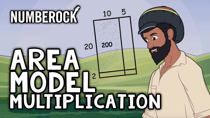 Area Model Multiplication Song by NUMBEROCK