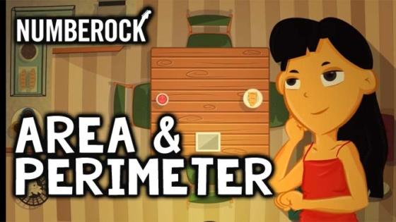 Area & Perimeter Song - Numberock Video