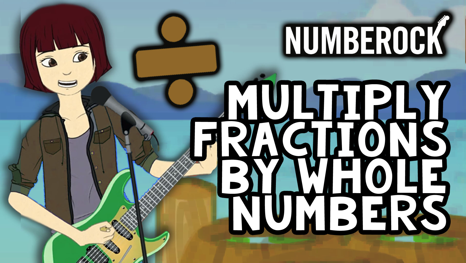 Multiplying Fractions by Whole Numbers with Word Problems, Worksheets