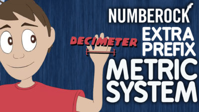Numberock's Metric System Song with video-based activities like a wall poster, lyrics sheet, lesson plan, and printable game.