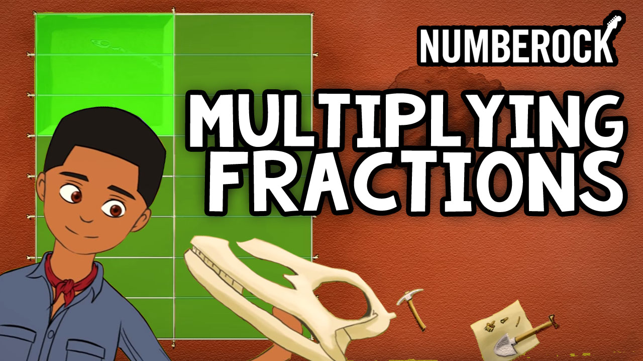 Multiplying Fractions Song | A Numberock Video with Lesson Plan, Worksheets, and Anchor Charts