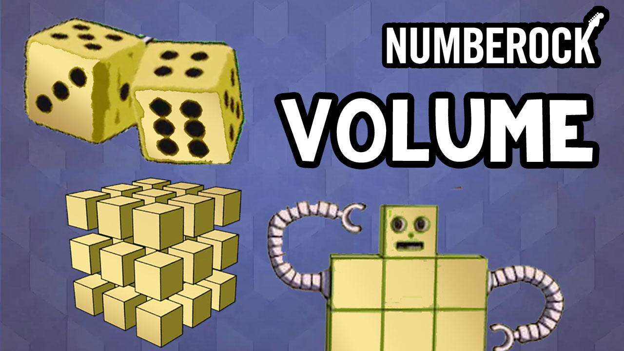 NUMBEROCK Volume Song | Video with Lesson Plan and Worksheets