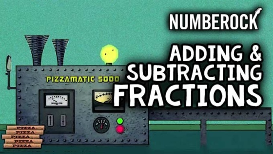 Adding & Subtracting Fractions - Numberock Video