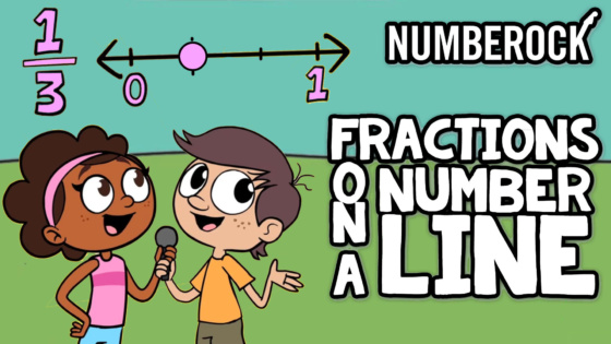Fractions on a Number Line Song | Numberock Video with Worksheets and More