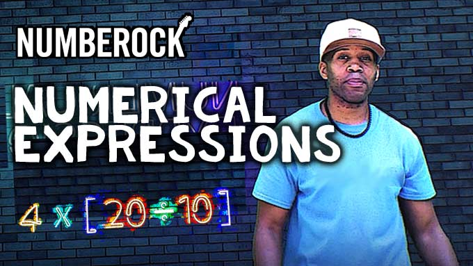 Writing & Interpreting Numerical Expressions Song by NUMBEROCK