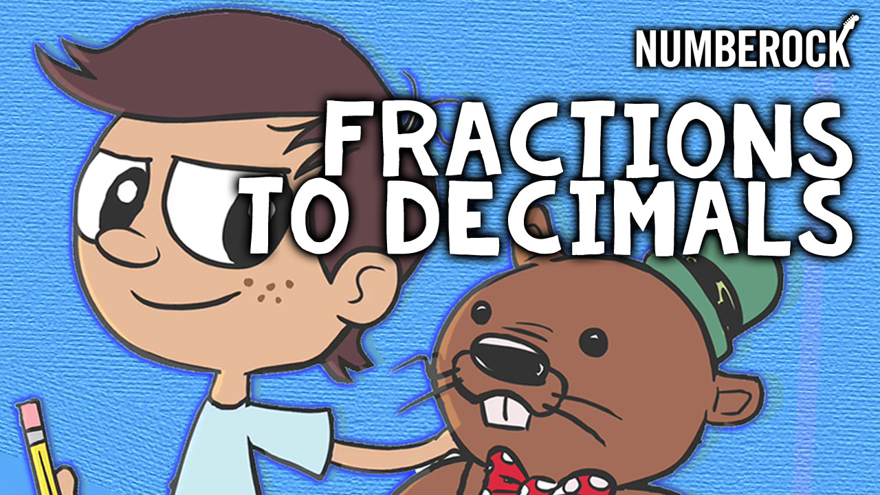 Converting Fractions to Decimals Video Thumb