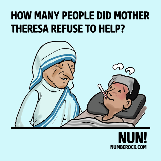 Math Joke About Mother Theresa