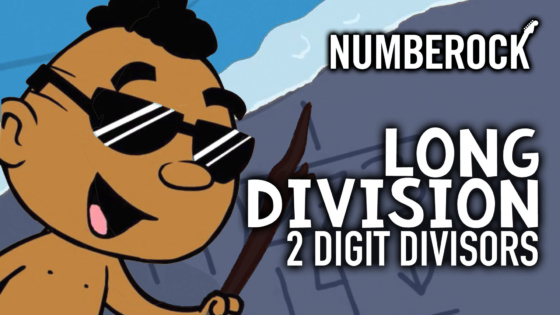 Long Division Song with 2 Digit Divisors | Video with Lesson Plan and Worksheets