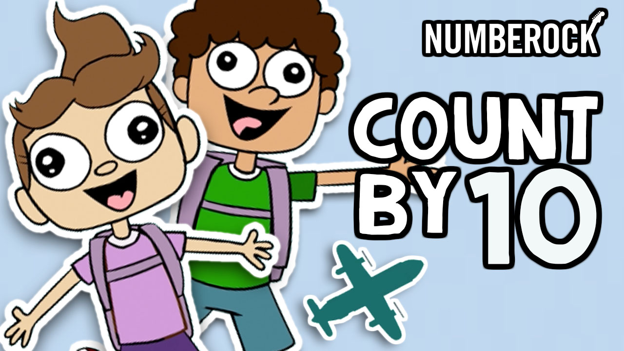 Skip Counting by 10 Song | A Numberock Video That Teaches Kids to Count Up by 5s