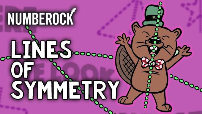Lines of Symmetry Song - NUMBEROCK Video Activity