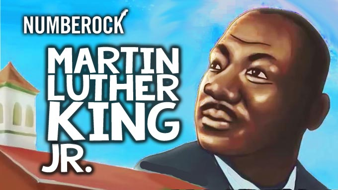 Martin Luther King Jr. Life History - Video by NUMBEROCK