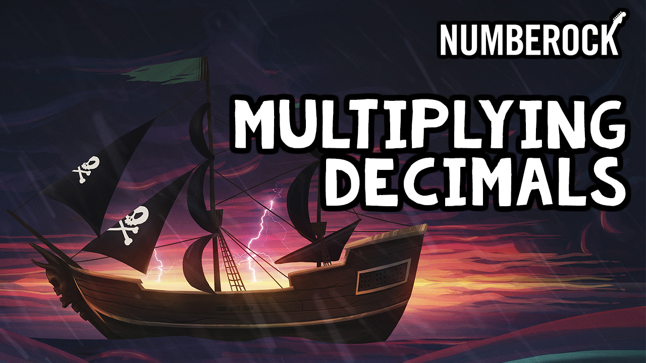 Multiplying Decimals Song | Video by NUMBEROCK