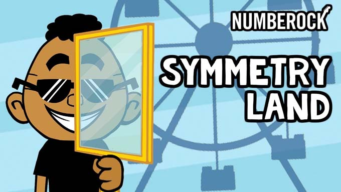 Lines of Symmetry Song | Video by NUMBEROCK