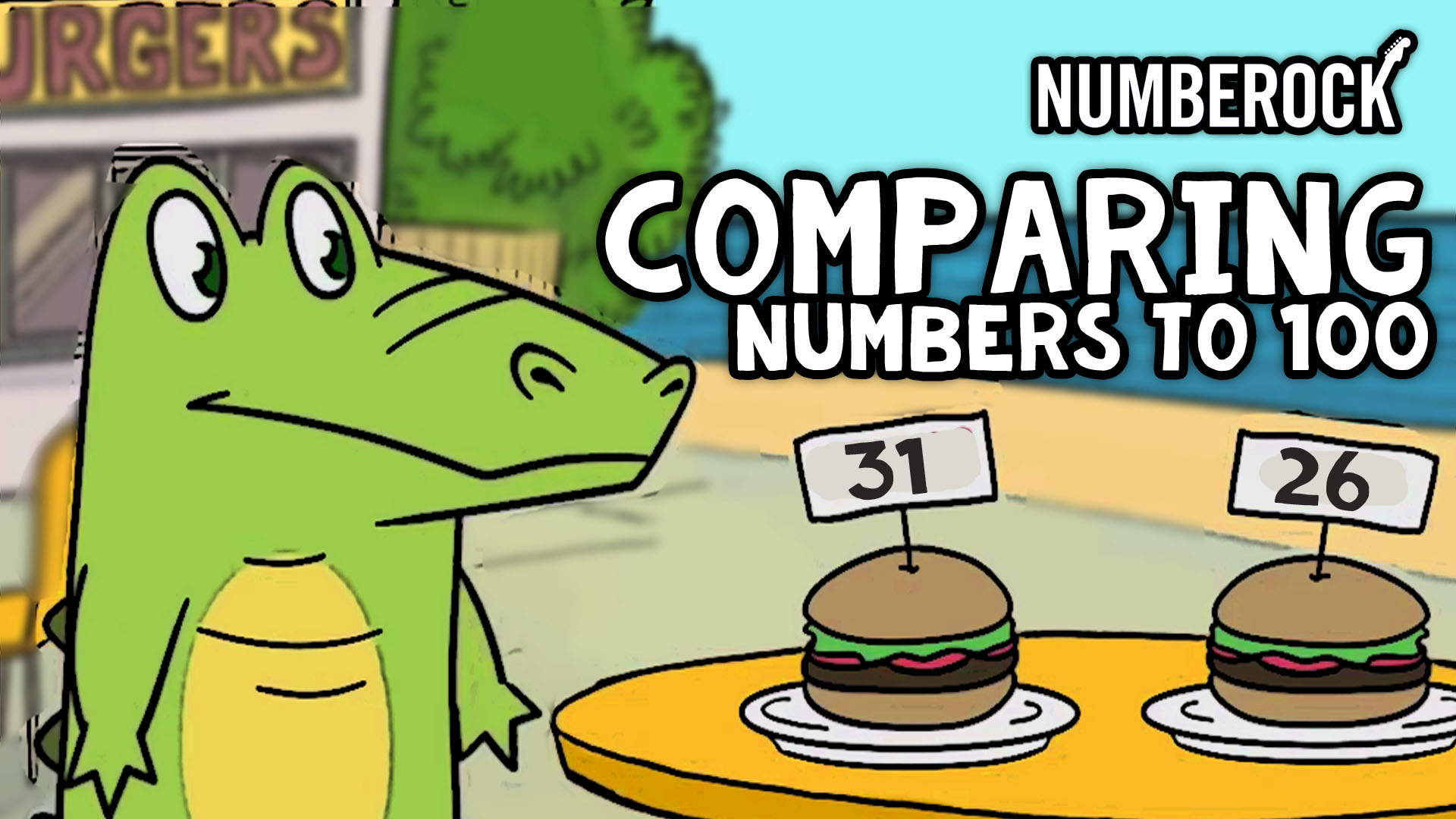 Comparing Numbers Kindergarten - 1st Grade