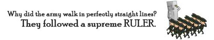 Metric System Supreme Ruler Joke by NUMBEROCK
