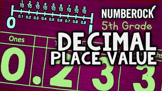 Decimal Place Value Song | 5th Grade Video