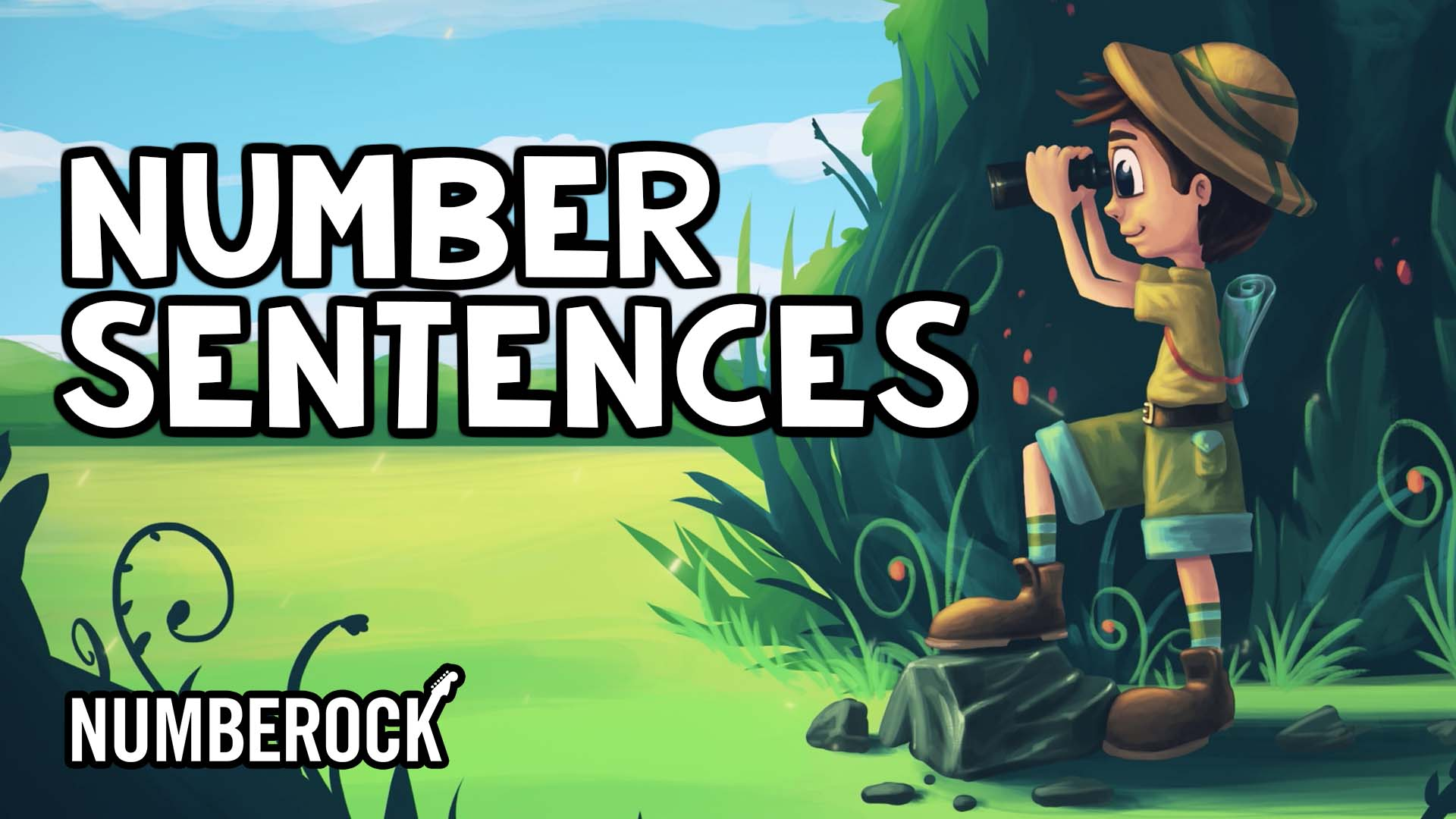 Number Sentences by Numberock | Video with Worksheets, Anchor Chart, and Activities