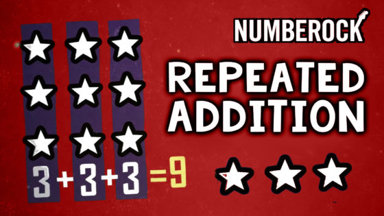 Repeated Addition Song | 2nd Grade Multiplication Video