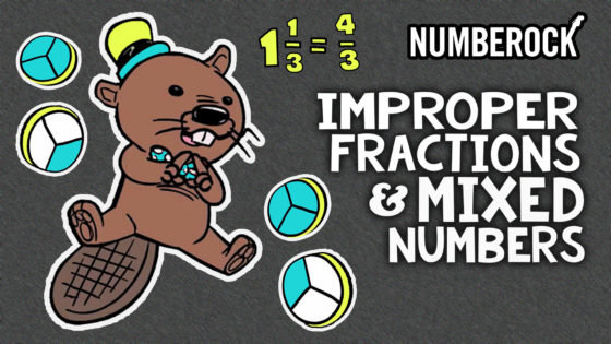 Improper Fractions and Mixed Numbers Song | Includes Anchor Chart, Worksheets, Activities and More