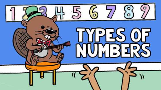 Numbers Song | Representing Types of Numbers Video with Anchor Chart, Worksheets, Activities and More